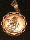 Chirstian Fish Cross Angel Prayer Box Pendant Necklace