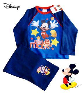 disney mickey mouse star boys pyjamas 1 2 3 4 5 years
