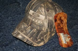 camo ball cap hat ford powerstroke diesel real tree embroidered camo