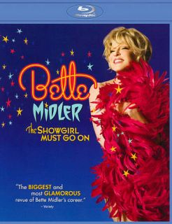 Bette Midler The Showgirl Must Go On Blu ray Disc, 2011