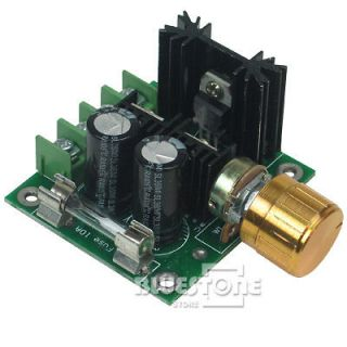 PWM DC Motor Speed Control Switch 12V 40V 10A Pulse Width Modulation