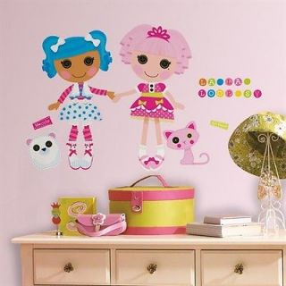 Lalaloopsy Peel & Stick Giant Removable Wall Decals Stickers