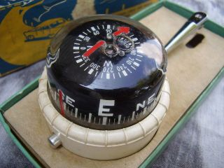 vintage taylor instruments navigator compass time left $ 35 00