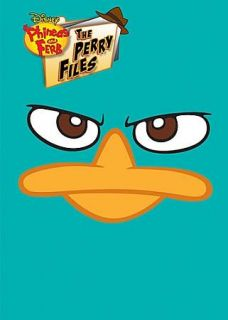 Phineas and Ferb The Perry Files DVD, 2012, 2 Disc Set, With Activity