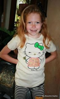 NWT Misha Lulu Hello Kitty Good Life Tee, Sz 6 & 8,  Retail
