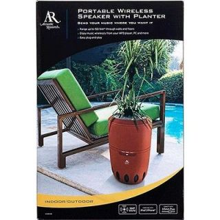 Research AW828 Indoor/Outdoor Wireless Speaker w/Built in Planter