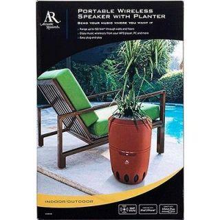 Research AW828 Indoor/Outdoor Wireless Speaker w/Built in Planter