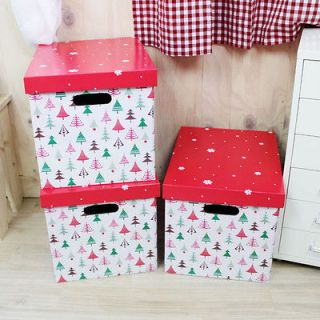 christmas storage boxes in Home & Garden