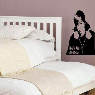 JUSTIN BIEBER MISTLETOE LARGE BEDROOM WALL MURAL GRAPHIC STICKER DECAL