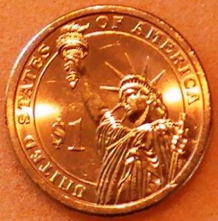 2007 ~ USA George Washington (24ct GOLD PLATED) One Dollar Coin