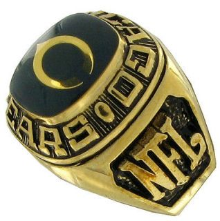 balfour ring football offical nfl team chicago bears sz 14