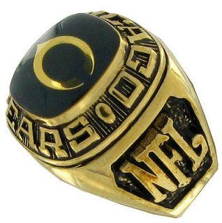 balfour ring football offical nfl team chicago bears sz 14