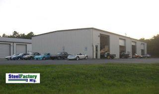 Prefab Metal Commercial Building 60x100 Steel Factory Mfg US Made