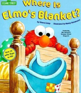 Blanket? (Sesame Street) (Nifty Lift and Look)​, , Acceptable Boo