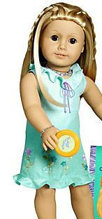 American Girl Doll Meet Kailey Sundress AMERICAN GIRL RETIRED 1Pcs