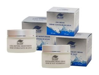 Day Night Eye Dead Sea Mineral Face care Creams Cosmetics Beauty aging