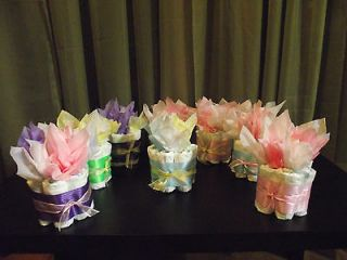 Mini Diaper Cake 1tier Baby Girl/Boy/Natur​al Shower Gift/Decoratio