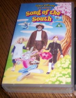 Original Uncut Walt Disneys SONG OF THE SOUTH vhs tape authentic