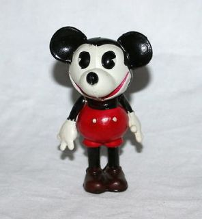 MICKEY MOUSE CELLULOID NURSERY DOLL HAND PAINTED FIGURINE+EXTRAS
