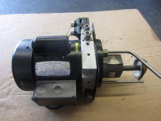 JOHNS BARNES C6C17FZ5C RPM 1725 115V HYDRAULIC POWER UNIT PRESCO AMI