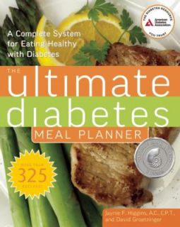 Ultimate Diabetes Meal Planner A Complete System for Eating Healthy