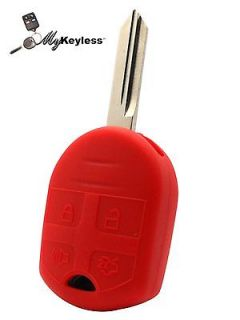 NEW FORD LINCOLN MERCURY UNCUT KEY KEYLESS ENTRY REMOTE COMBO