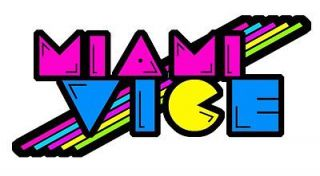 miami vice cool retro 80 s iron t shirt transfer