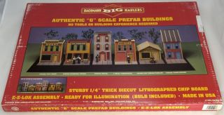 Scale Prefab Building Kit   Town House   Bachmann Big Haulers #95006