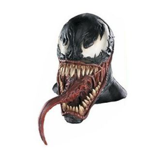 Authentic Venom Latex Mask Adult Marvel Spiderman Costume DG10571