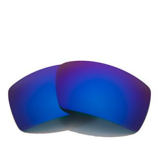 Polarized Ice Blue Replacement Lenses For Oakley Eyepatch 2 Sunglasses