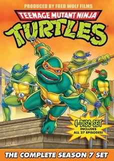 Teenage Mutant Ninja Turtles The Complete Season 7 Set DVD, 2009, 4