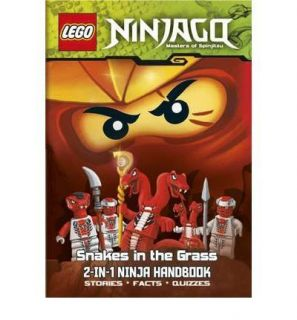 LEGO Ninjago 2 in 1 Ninja Handbook: The Bravest Ninja of All/S