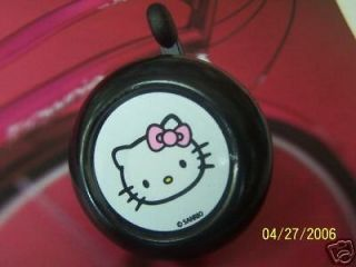 bicycle bell hello kitty black nirve new
