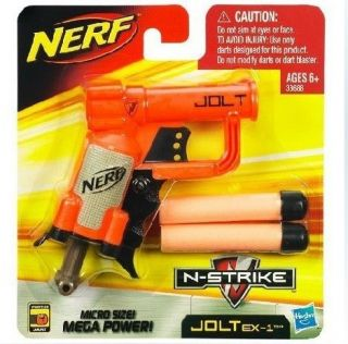 nerf gun nerf n strike jolt ex 1 blaster time left $ 4 49 buy it now