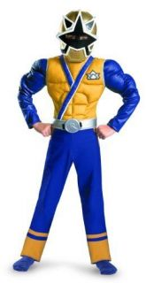 power rangers samuirai gold ranger boy s muscle costume