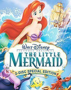 disney the little mermaid dvd in DVDs & Blu ray Discs