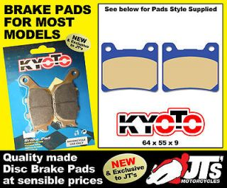 REAR SET DISC BRAKE PADS TO SUIT NORTON Commander (Rotary) (90)