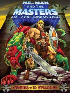 He Man and the Masters of the Universe Origins DVD, 2009