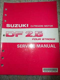2006 06 suzuki df2 5 four stroke outboard motor service repair manual