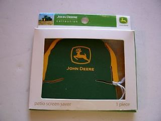 JOHN DEERE PATIO SCREEN SAVER MAGNETIC DECORATION AMERICANA COUNTRY
