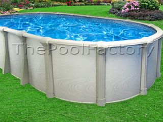 18X40X54 Oval PREMIUM Above Ground Swimming Pool Package   HUGE RESIN