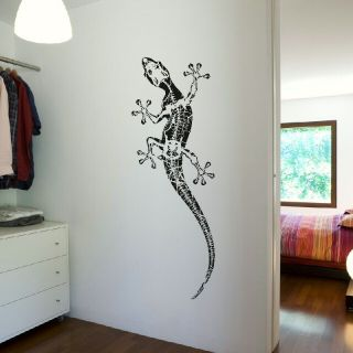 LARGE GECKO LIZARD Vinyl wall sticker decal new graphic transfer car