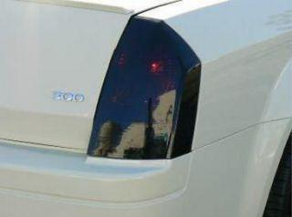Putco 402809 Chrome Tail Light Covers Chrysler 300 / 300C (Fits 2006