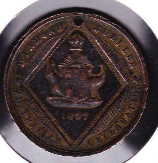 1897 australia queen victoria diamond jubilee medal from canada time