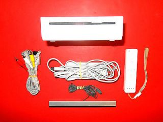 nintendo wii white console ntsc in stock white time left