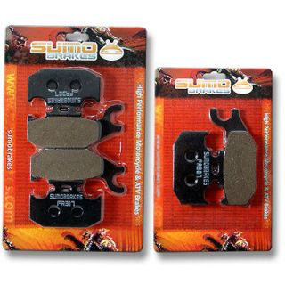 CAN AM Front Rear Brake Pads Outlander 400 500 650 800 2007 2008 2009