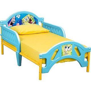 nickelodeon spongebob squarepants kids toddler bed new