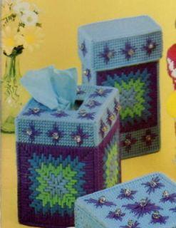 Free Crochet Pattern 647 Crochet Tissue Box Holder
