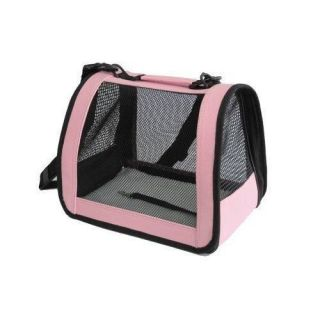Pink Medium Pet Carrier Dog Cat Bag Tote Purse Handbag 3P