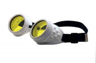 big steampunk goggles rave wear cyber goth phat pants